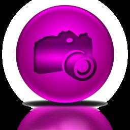 065264-pink-metallic-orb-icon-people-things-camera